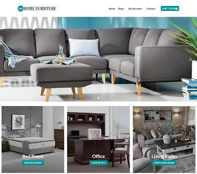 Home Furniture Website Business - Earn 958 A Sale. Instant Trafficdomain