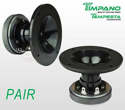 Pair Timpano Tpt Dh150 1 Ferrite Compression Driver   1 Inch Exit Plastic Horn