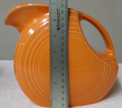 New Fiestaware 7in Orange Pitcher