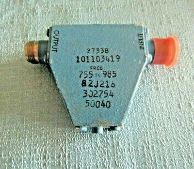 Mixed Lot Rf Components- Fxr Waveguide Genrad Attenuator Telonic Rho-tecto...