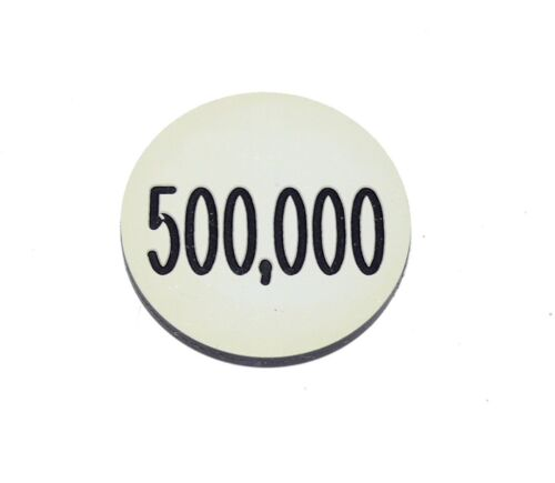 Lammers Buttons 500,000 500k Gambling Poker Lot of 31 Chips
