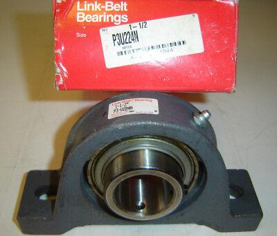 Link-belt P3u224n Pillow Block Bearing 1-12 Shaft