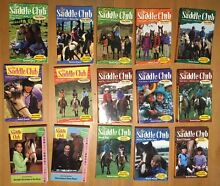 Saddle Club books - horse and pony stories Sandringham Bayside Area Preview