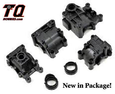 LOSB3104  FRONT REAR GEARBOX SET 10-T & SCTE 2.0 Fast Ship wTrack# ()