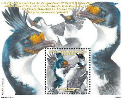 TAAF 2021 BIRDS ALBATROS   SOUVENIR SHEET  BLOCK  MNH