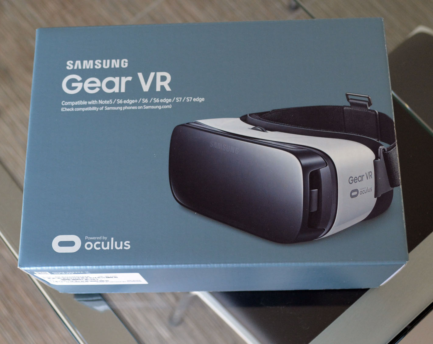 Samsung Gear VR Virtual Reality Headset SM-R322NZWAXAR