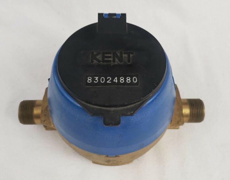 Kent Flow Meter 5/8 × 1/2 C700 Cubic Feet Used