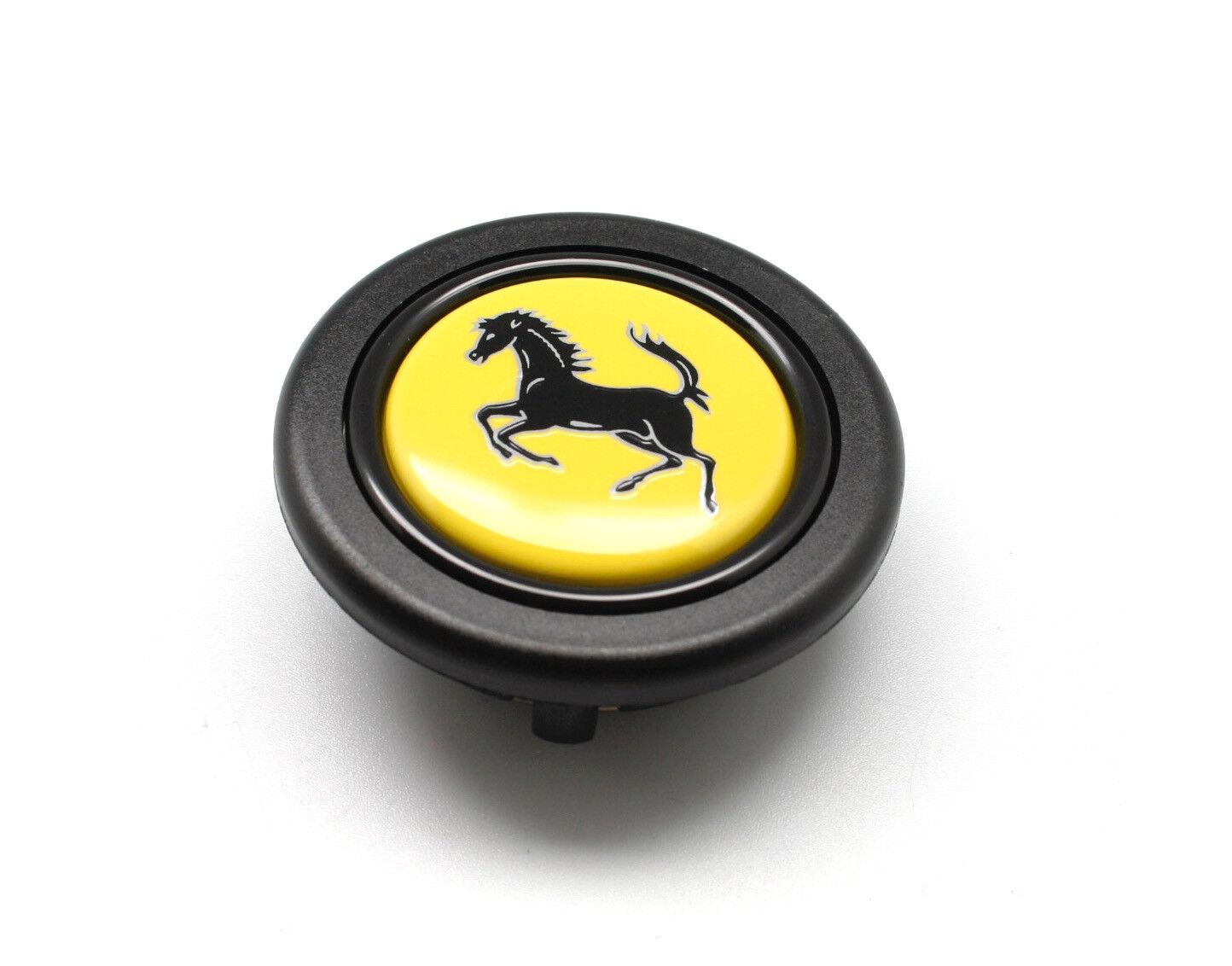 Elettro Steering Wheel Horn Button For Momo Omp With Ferrari Crest 58mm Ebay