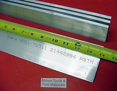 4 Pieces 14 X 2-12 Aluminum Flat Bar 14 Long 6061 T6511 Plate Mill Stock