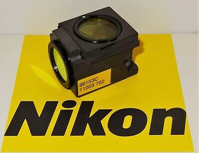 Nikon Blue Violet Bv-2b Fluorescent Microscope Filter Cube For E400600 Te20030