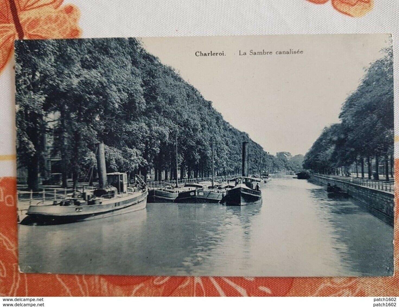 CHARLEROI LA SAMBRE CANALISEE
