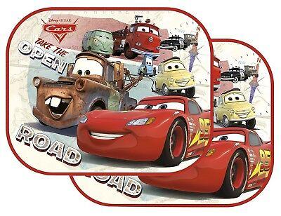 Cars Saetta McQueen set 2 Tendine Tende Parasole auto finestrino Bambini