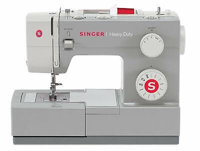 NEW SINGER HEAVY DUTY SEWING MACHINE INDUSTRIAL PORTABLE LEATHER EMBROIDERY -