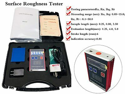 Surface Profile Gauge Surface Roughness Tester Ra Rz Rq Rt Oled Display