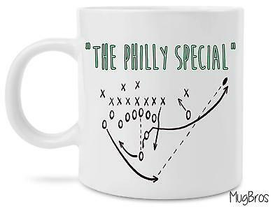 The Philly Special Eagles Nick Foles Trick Play Coffee Mug T Shirt - Fun Coffee Mugs