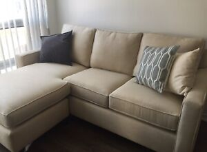 Pottery Barn Cameron Sofa with Reversible Chais $660