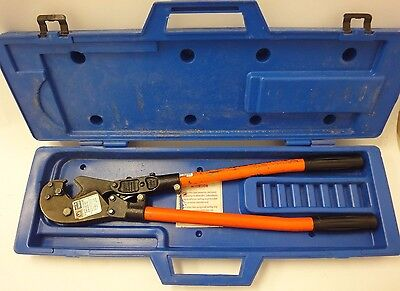 Thomas Betts Tbm8 Manual Crimper