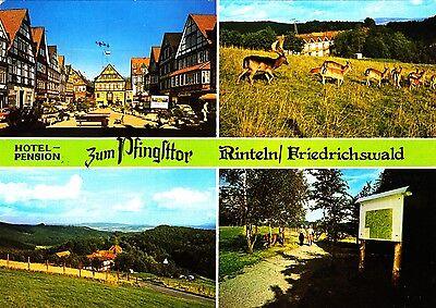 Rinteln / Friedrichswald , Ansichtskarte 1981 gelaufen