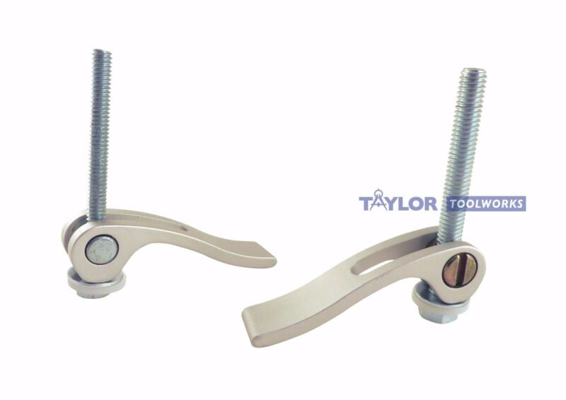 2 Piece T Track Cam Action Hold Down Jig Clamp Kit 5/16 18 Bolt CAHDC-5/16X2