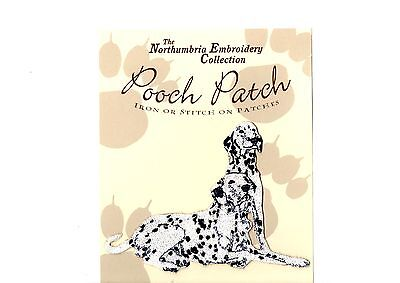 Dalmatian  EMBROIDERED  Pooch Patch