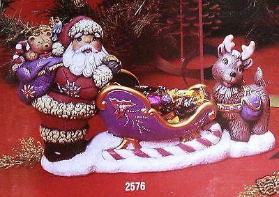 Керамика под покраску Ceramic Bisque Santa