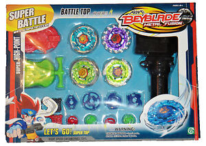 Similar Beyblade Metal Master Fusion 4D Spinning Tops Battle Wheel VALUE PACK