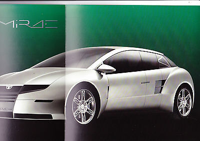 Daewoo Mirae Concept Car brochure - 1999 - unusual and Mint