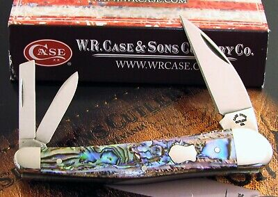 Case Paua Abalone Seahorse Whittler Knife 2003 Case Bros. Immaculate AAA+ NR