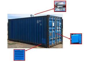 Ventilation Pack for Shipping Containers - 20% OFF Laverton Wyndham Area Preview