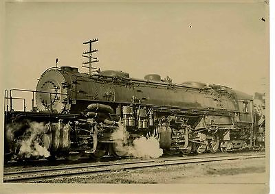 6EE034 RP 1940/50s SOUTHERN PACIFIC RAILROAD ENGINE #4117