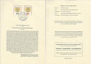 Berlin 15.10.57. - ETB n.29 - Deutscher Bundestag - Italia - Berlin 15.10.57. - ETB n.29 - Deutscher Bundestag - Italia