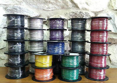 500 Ft Tfntewn Wire. 18 Awg Solid 600 Volt. Made In Usa Violet Available
