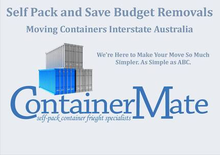 Townsville Interstate Shipping Container Freight Self Pack Remova North Ward Townsville City Preview