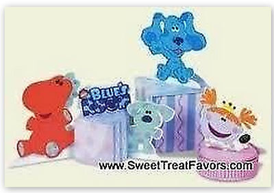 BLUES CLUES Party Supplies CENTERPIECE Favor Birthday Dog Decoration Boy Girl NW Blues Clues Party Decorations