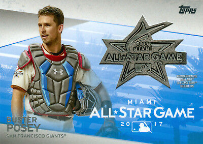 e8b8f932150 BUSTER POSEY 2018 TOPPS ALL-STAR MEDALLIONS! GIANTS! FREE SHIP   BONUS!