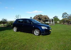 2004 Toyota Corolla Ascent Sport Seca Hatchback - Only 139,000 km Nullamanna Inverell Area Preview