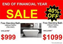 END OF FINANCIAL YEAR SALE - Bathroom Vanity Packages - Tapware Osborne Park Stirling Area Preview