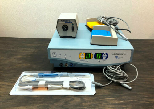 ArthroCare ENT Coblator II ( 2 ) Electrosurgical System RF8000E with Accessories