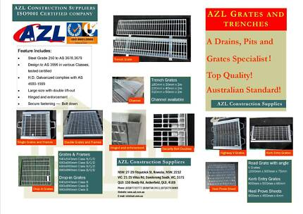 Big Bargain on brand new 【Grates and Trench】! We supply quality h Dandenong South Greater Dandenong Preview