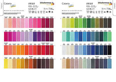 36 Einzel -, (Schachenmayr Catania alle Farben (GP  36,40 EUR/kg) 9801210)