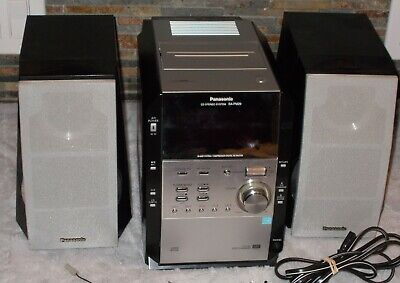 Panasonic SA-PM29 Micro Stereo System 5 CD Cassette Tuner Aux Pre-Owned -