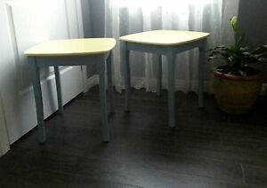 beautiful set of end tables