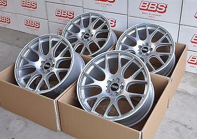 BBS CH-R Silber 4 Felgen 9x20 + 10x20 Zoll CH148 / CH149 für Porsche Macan ()