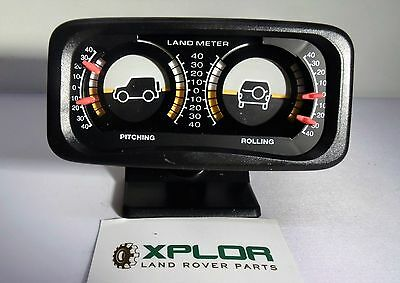 LAND ROVER 4 X 4 OFF ROAD INCLINOMETER PITCH & ROLL METER LAND GUAGE