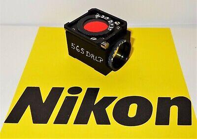 Nikon Chroma Tritc Fluorescent Microscope Filter Cube For Labophot Optiphot