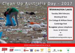Clean up Australia Day Werrington County Penrith Area Preview