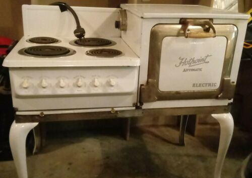 Vintage 1940s Hotpoint Electric Stove