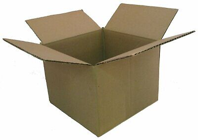 25 10x10x10 Corrugated Boxes Shipping Packing Moving Cardboard Cartons