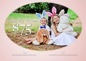 $75 Easter photography session Launceston Launceston Area Preview