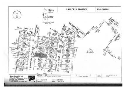 400 sqm Land in Aston Craigieburn along Champion Parade